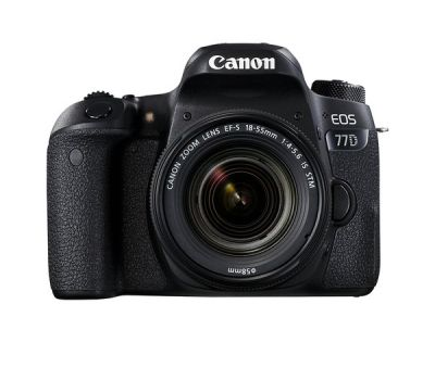 Canon EOS 77D EF-S 18-55 IS STM Kit LBM